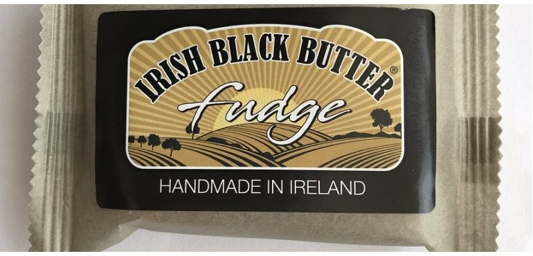 Irish Black Butter Fudge